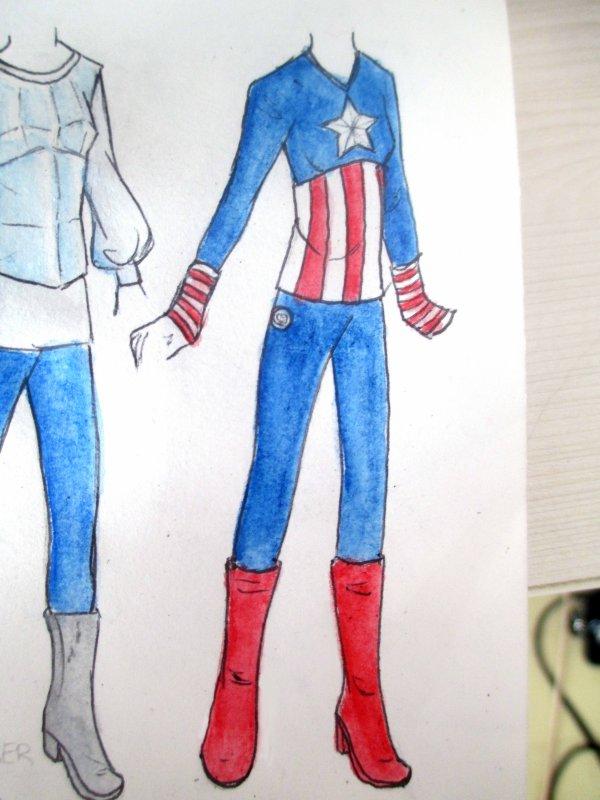 costumes de la semaine - I'm an Avenger
