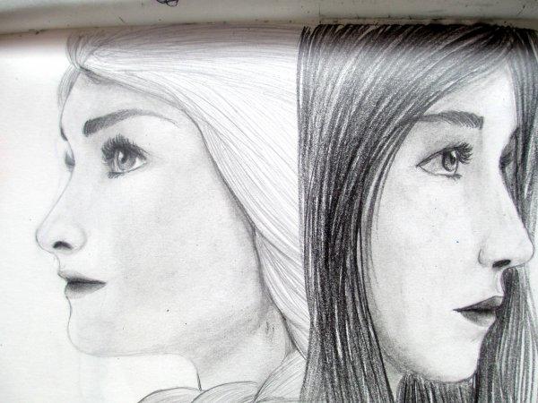dessins de la semaine - Exercices de portrait
