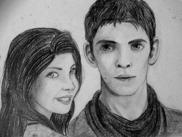 Merlin & Amy - Queen and Lionheart
