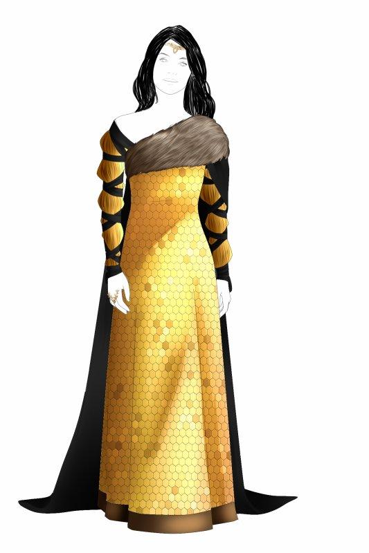 Costumes - Queen of Erebor, Married to a Hobbit