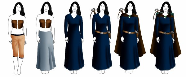 Costume composition - Lord of the rings