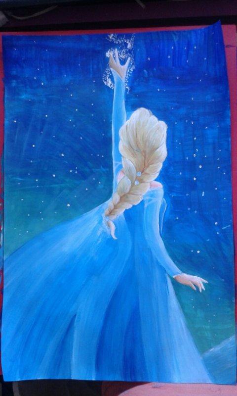 Peinture - Elsa of Arendal