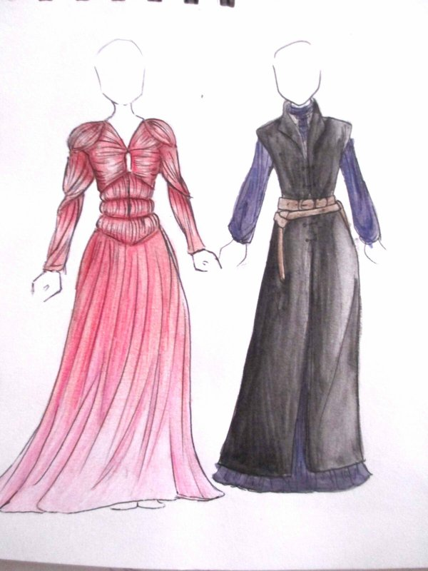 Costumes - Ramsay Bolton inspired dresses