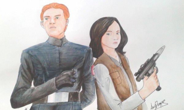 Armitage Hux & Elena Kenobi - Illustration de fanfic