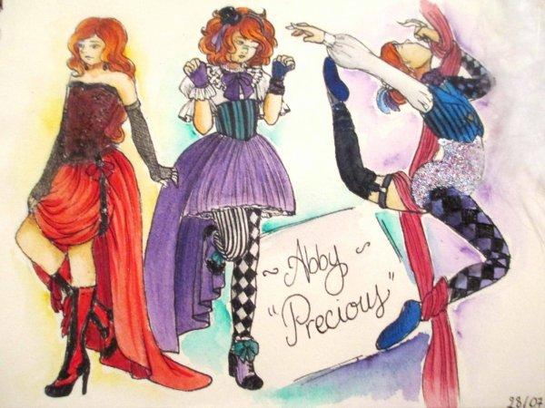 """Abby """"Precious"""" - Cabaret & Circus artist"""