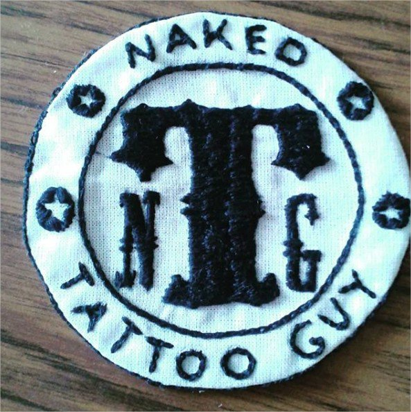 Patch Naked Tatto Guy