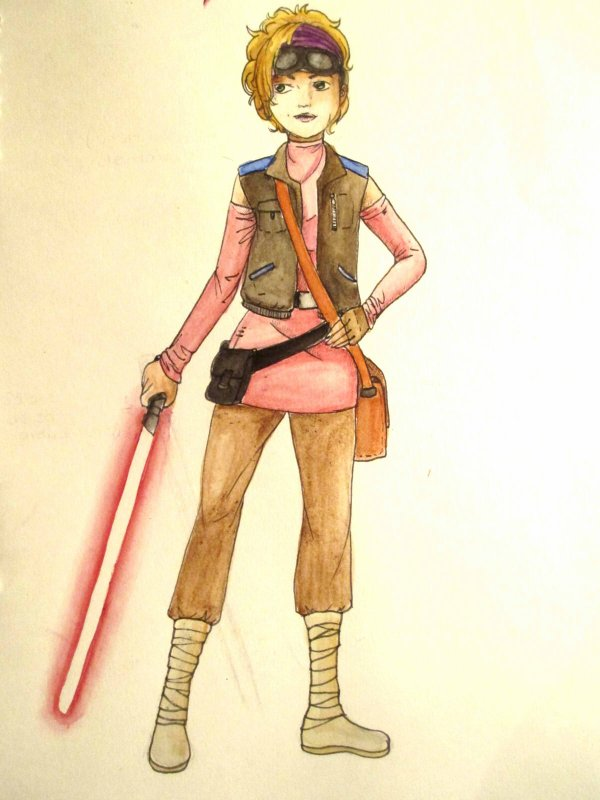 Maya-Assaj Ventress/ Rp Character