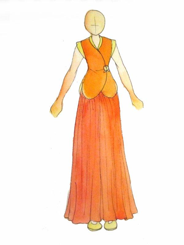 Costumes - Flower Maiden