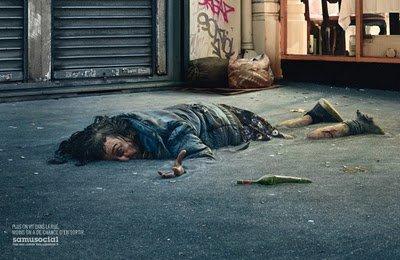 Vivre dans la rue