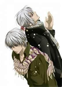 jumeaux: zero et ichiru kiryu sont des personnages importants dans le manga envoutant vampire knghit