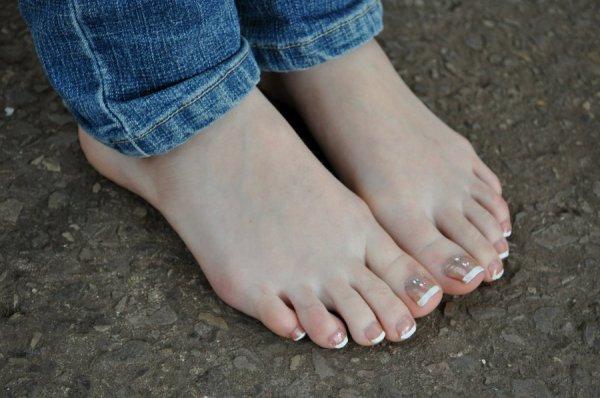 les pied de ma copine