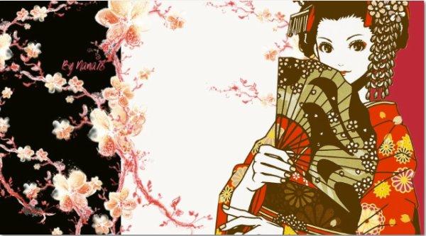 Habillage Geisha 1
