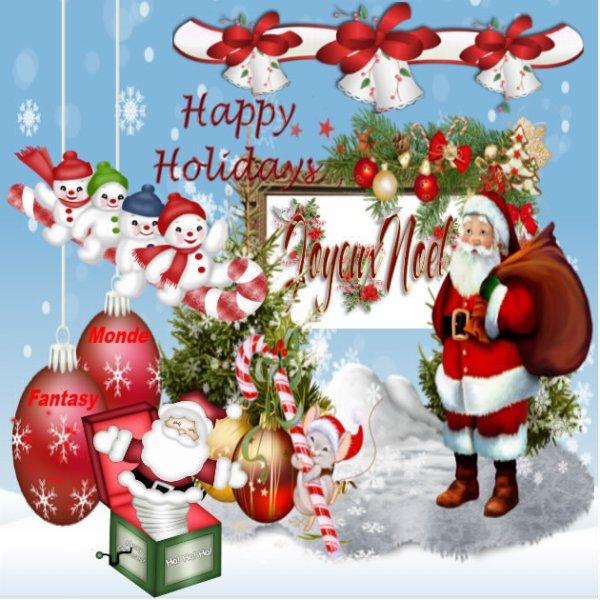 Joyeux Noël et Bon Réveillon !