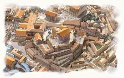 La fabrication des monnaies romaines.