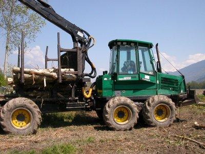 tracteur forestier timberjack