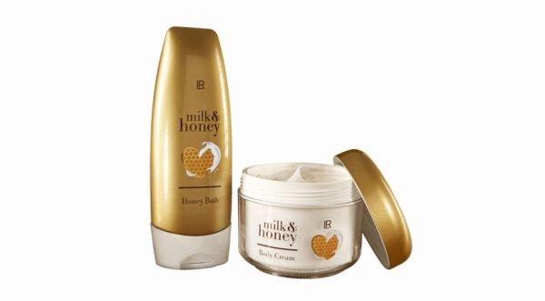 Set bain au miel et crème pour le corps 22 euros 90
