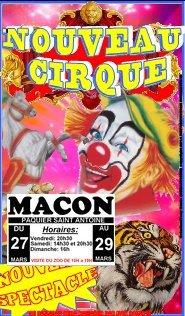 Nouveau cirque maquette