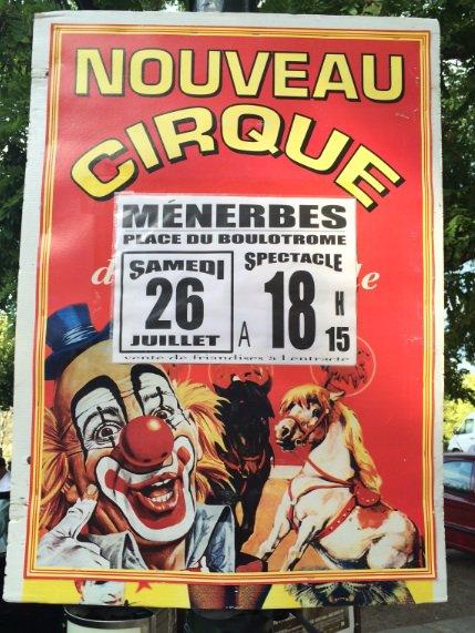 Le nouveau cirque maquette