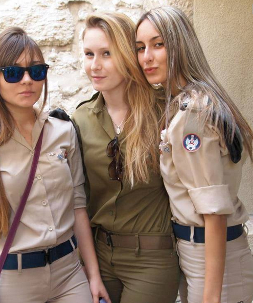 nous filles jeune juive d'israel merci à elles proteger notre israel