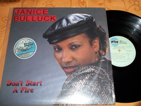 Janice Bulluck - Don't Start A Fire 1987