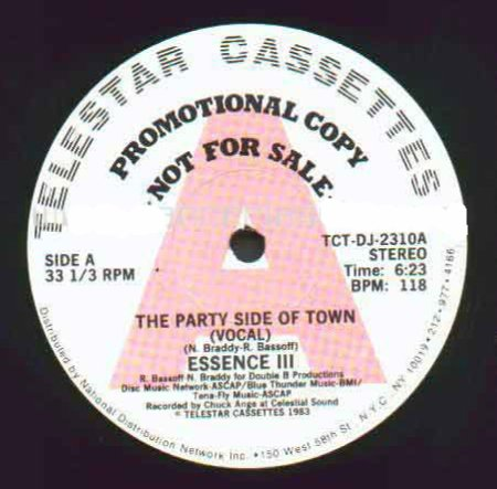 Essence III - The Party Side Of Town 1983