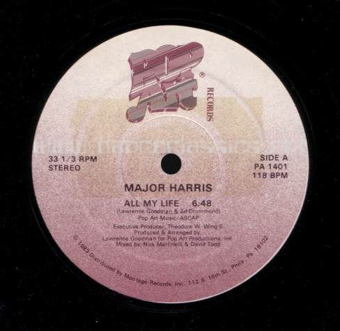 Major Harris - All My Life 1983