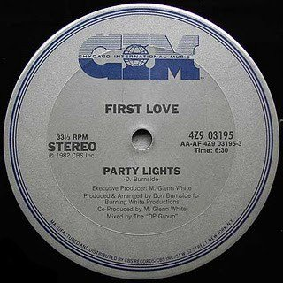 First Love - Party Lights 1982