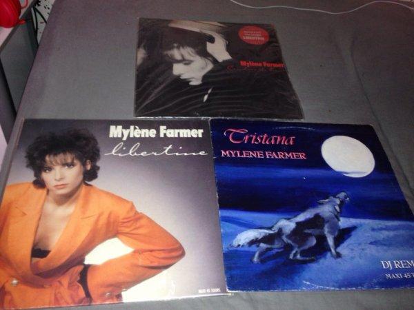 """Vinyles Époque """" Cendres de lune """""""
