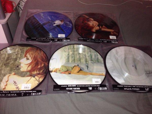 Picture Disc des albums studios