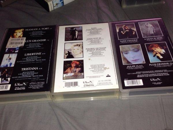 """VHS """" Les Clips """""""