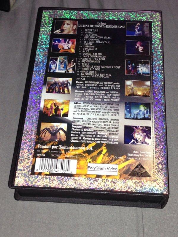 """VHS """" Live à Bercy """""""