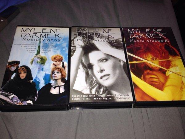 """VHS """" Music Vidéos """""""