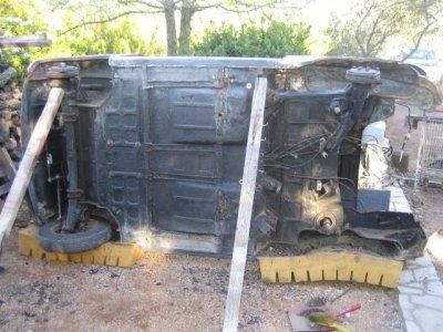 Reparation et Blaxonnage des planchers et passages de roue
