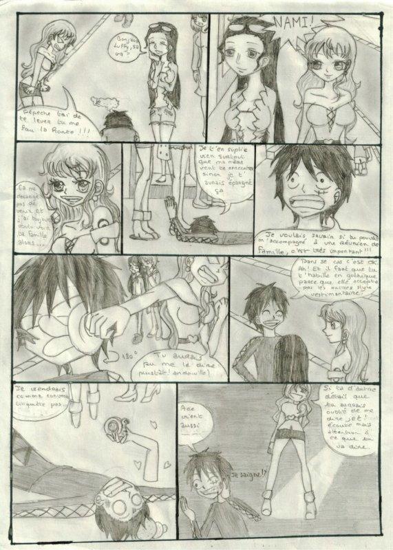 Une soirée chez la famille de Luffy (partie 1)