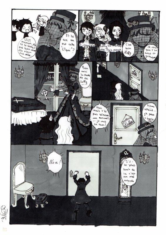 Une soirée chez la famille de Luffy (partie 5)