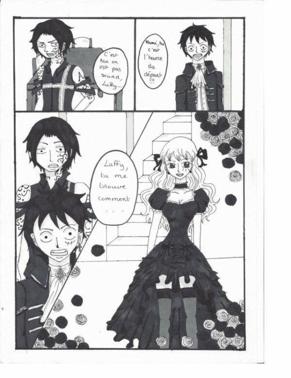 une soirée dans la famille de Luffy (partie 3)