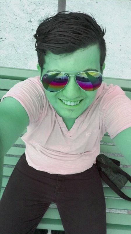 Moi en mode Hulk