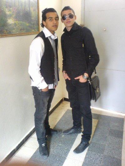 moi et mes amis malik khidro amine rachid fet7i kadiro