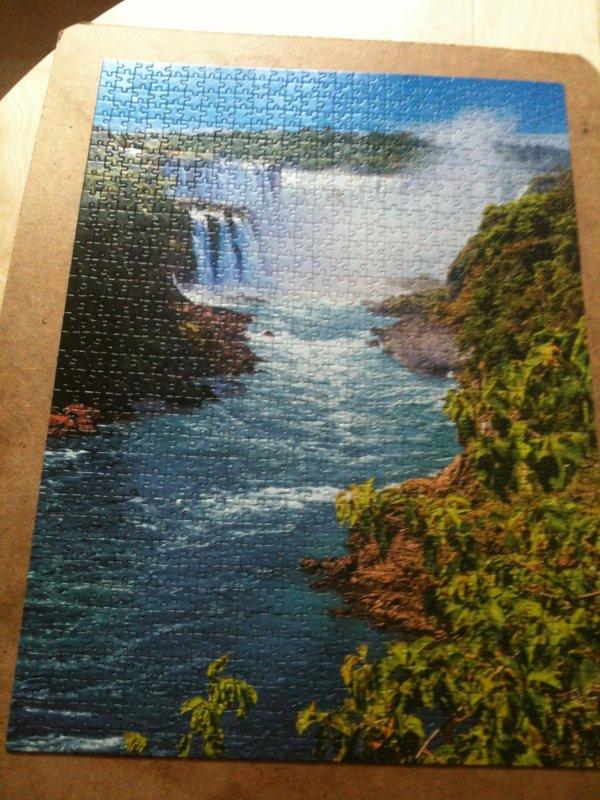 Un puzzle de 1000 pièce