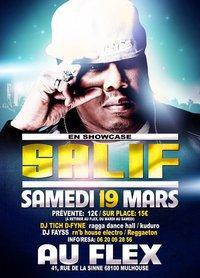 Salif en showcase au Flex 19 mars 23hres