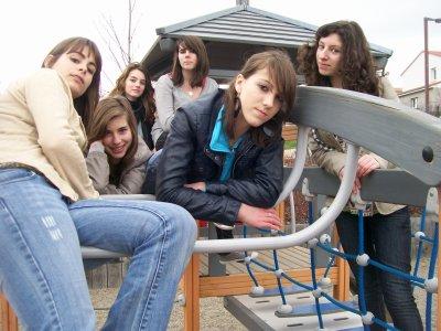 moi et les filles au park !!!
