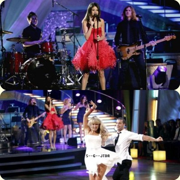 """5/04: SELENA & THE SCENE DANS L'EMISSION """" DANCING WITH THE STARS """""""