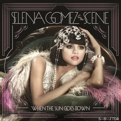 "VOICI LA POCHETTE DU NOUVELLE ALBUM DE SELENA GOMEZ "" WHEN THE SUN GOES DOWN "" QUI SORTIRA LE 28 JUIN !"