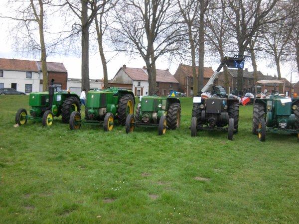 exposition des tracteurs en belgique