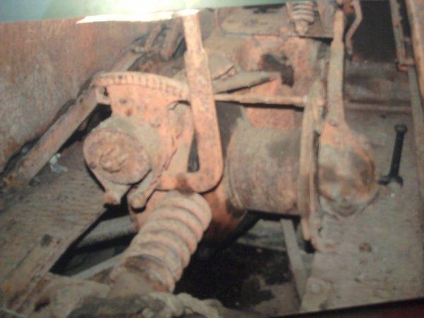 treuil d'origine au demontage