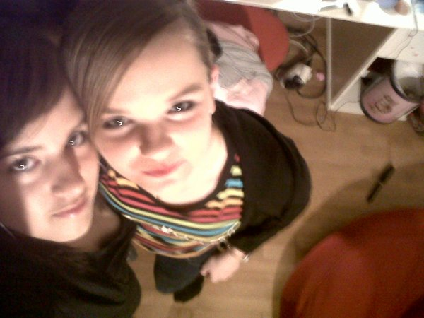 ma meilleur amie et moi