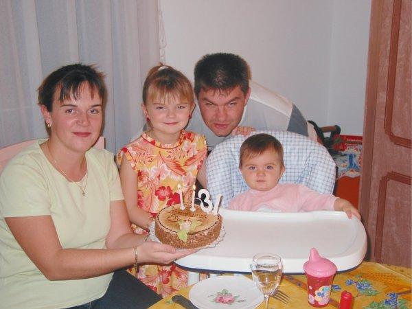 Maman & Moi & Papa & La p'tite soeur ♥