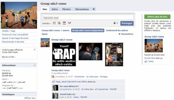 Voi©i la page officiel de Group Sda3-rasse