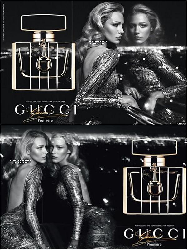 . Découvrez deux nouvelles affiches de Blake pour la campagne Gucci Première .