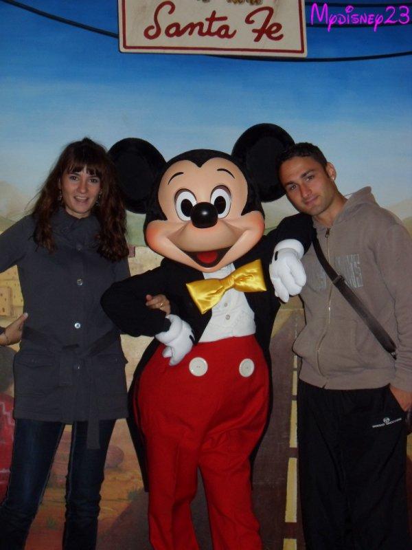 Rencontre avec Mickey